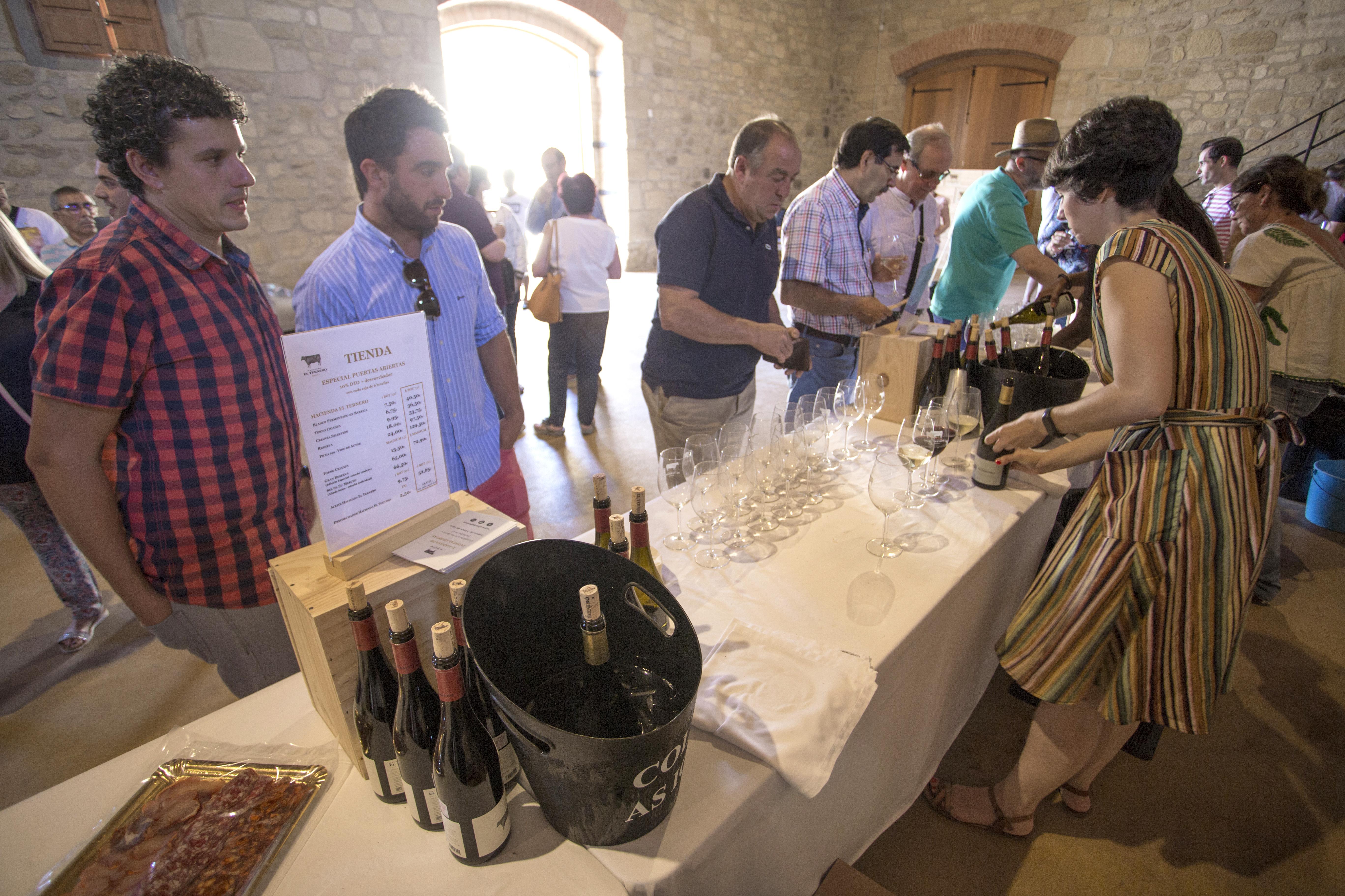Enoturismo Rioja Alta Hacienda El Ternero Puertas Abiertas 2018